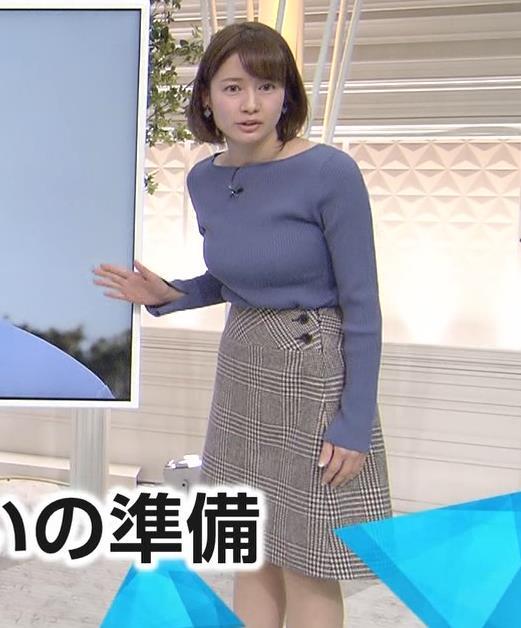 宇内梨沙アナ 巨乳を開放!キャプ・エロ画像5