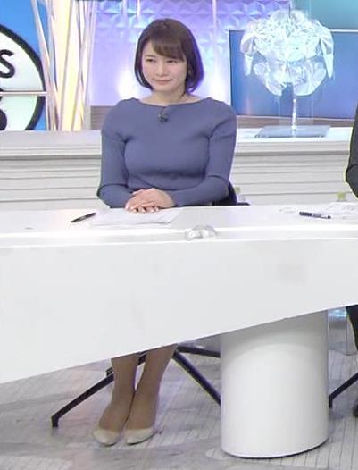 宇内梨沙アナ 巨乳を開放!キャプ・エロ画像9