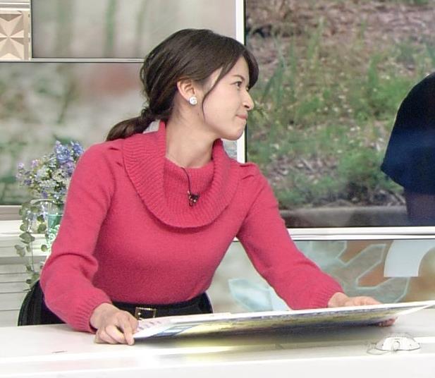 宇内梨沙アナ ニットおっぱい★キャプ・エロ画像3