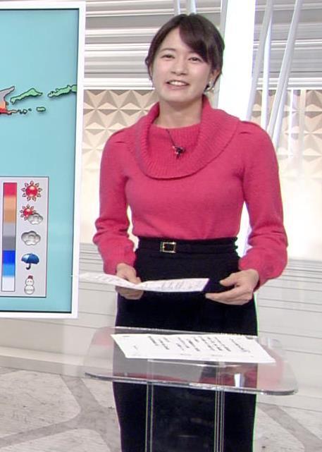 宇内梨沙アナ ニットおっぱい★キャプ・エロ画像8