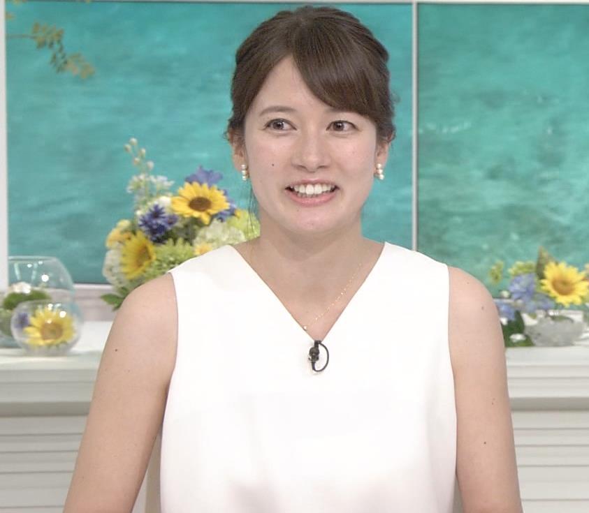 宇内梨沙アナ ノースリーブキャプ・エロ画像4