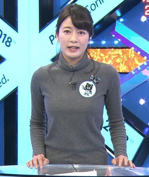 アナ ニット乳&ピタパンキャプ・エロ画像3