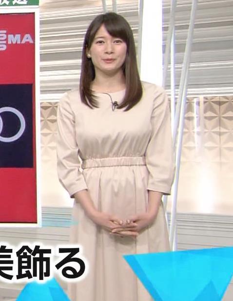 宇内梨沙アナ お胸がいい感じの服キャプ・エロ画像2