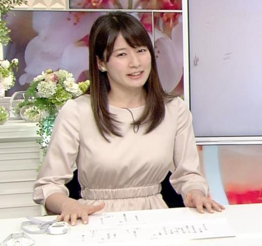宇内梨沙アナ お胸がいい感じの服キャプ・エロ画像7
