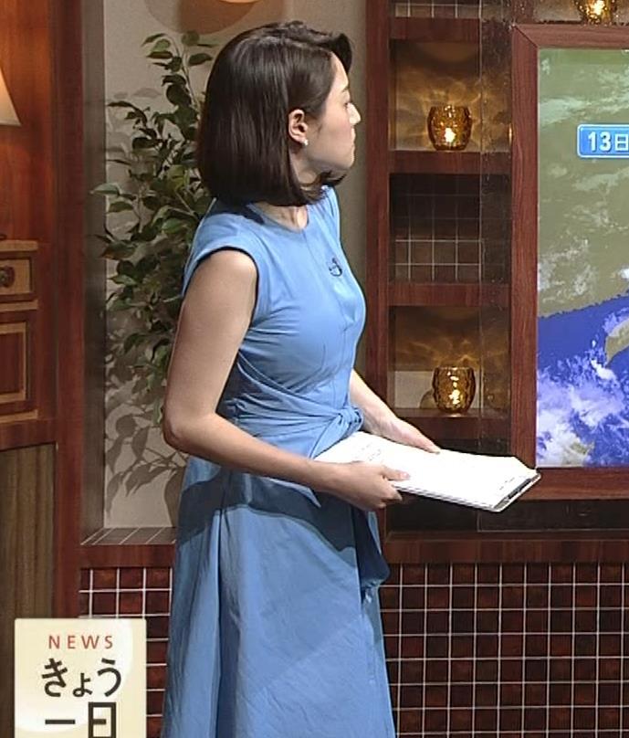 牛田茉友アナ 深夜のおっぱいがエロいニュース番組。これなら受信料を払っても…キャプ・エロ画像5