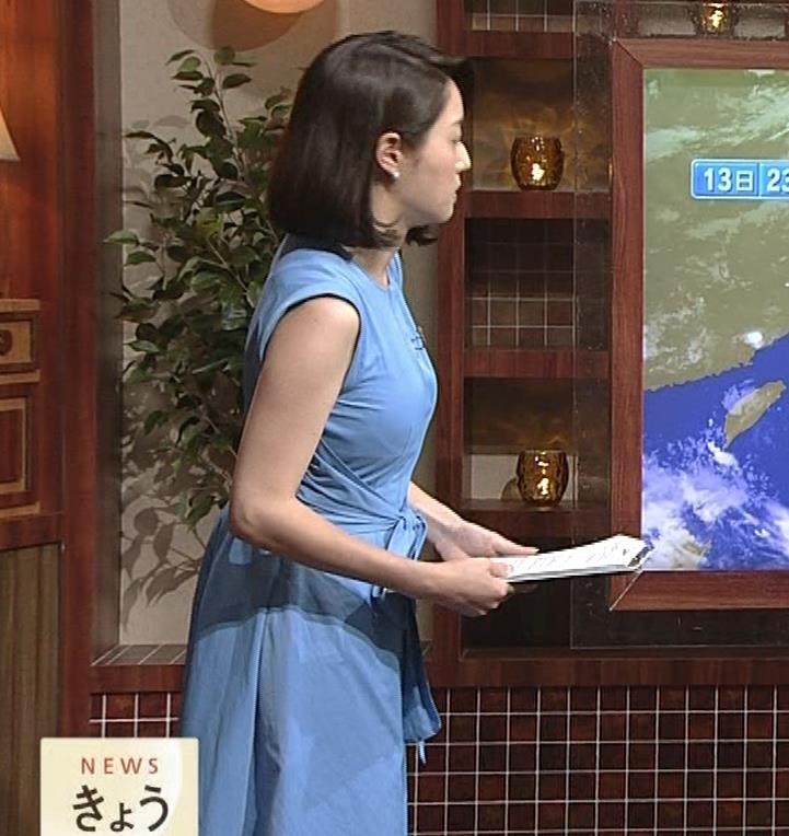 牛田茉友アナ 深夜のおっぱいがエロいニュース番組。これなら受信料を払っても…キャプ・エロ画像6