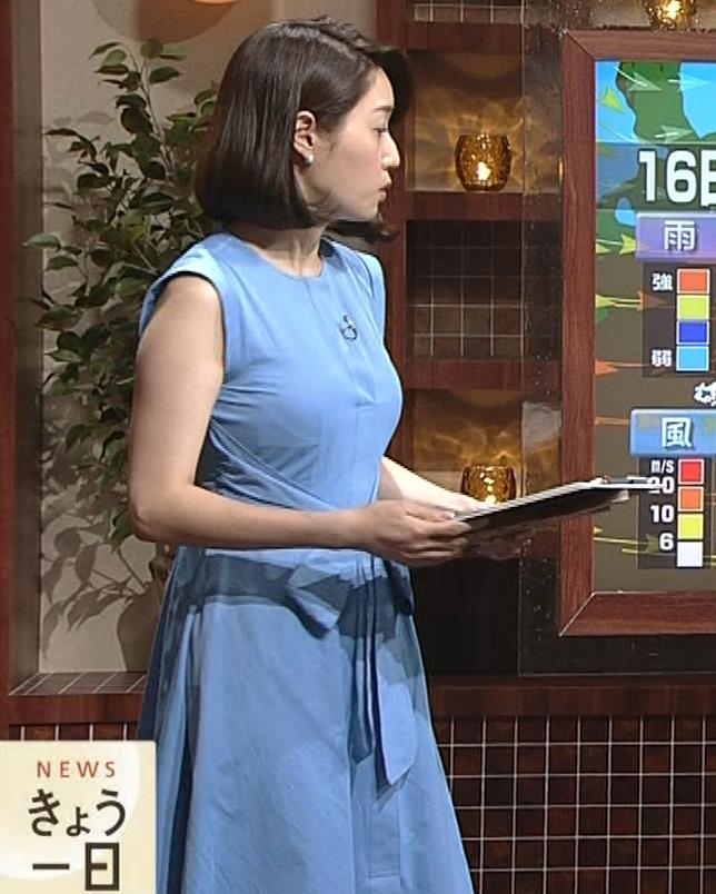 牛田茉友アナ 深夜のおっぱいがエロいニュース番組。これなら受信料を払っても…キャプ・エロ画像8