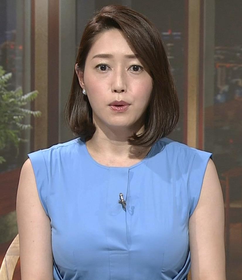 牛田茉友アナ 深夜のおっぱいがエロいニュース番組。これなら受信料を払っても…キャプ・エロ画像9