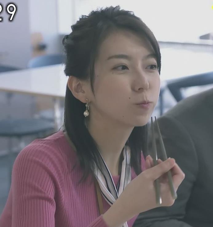 アナ 細身だけどエロいニットおっぱい♡キャプ・エロ画像6