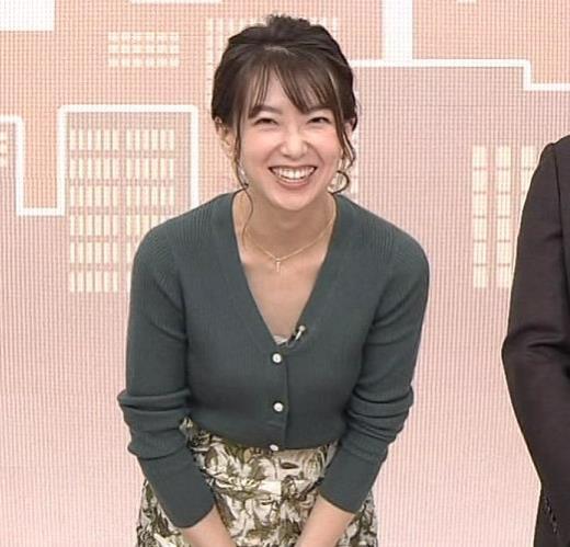 和久田麻由子 胸元開き気味キャプ画像(エロ・アイコラ画像)