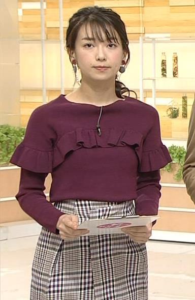 和久田麻由子アナ おはよう日本キャプ・エロ画像