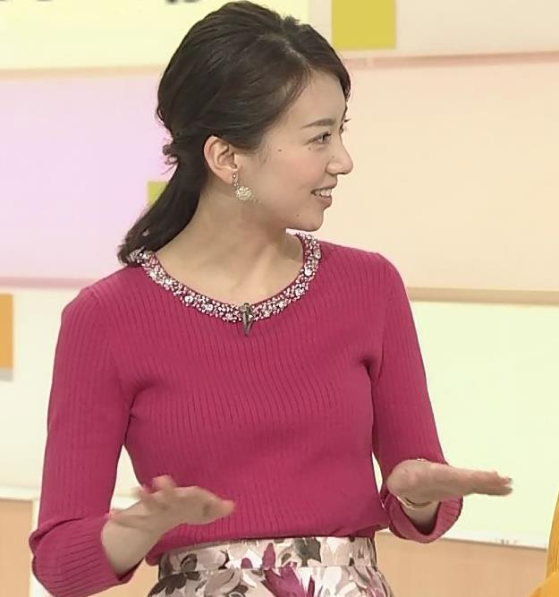 和久田麻由子アナ ニットおっぱい◆キャプ・エロ画像2