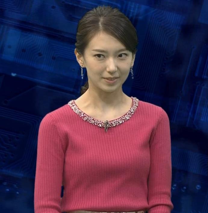 和久田麻由子アナ ニットおっぱい◆キャプ・エロ画像5