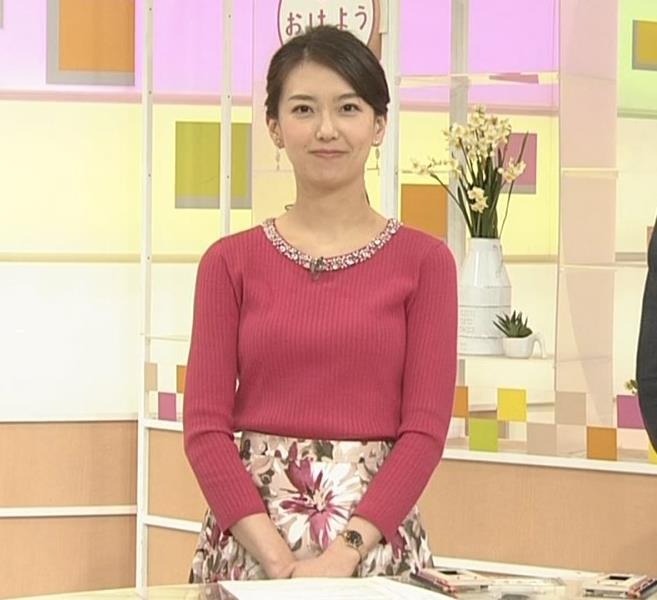 和久田麻由子アナ ニットおっぱい◆キャプ・エロ画像6
