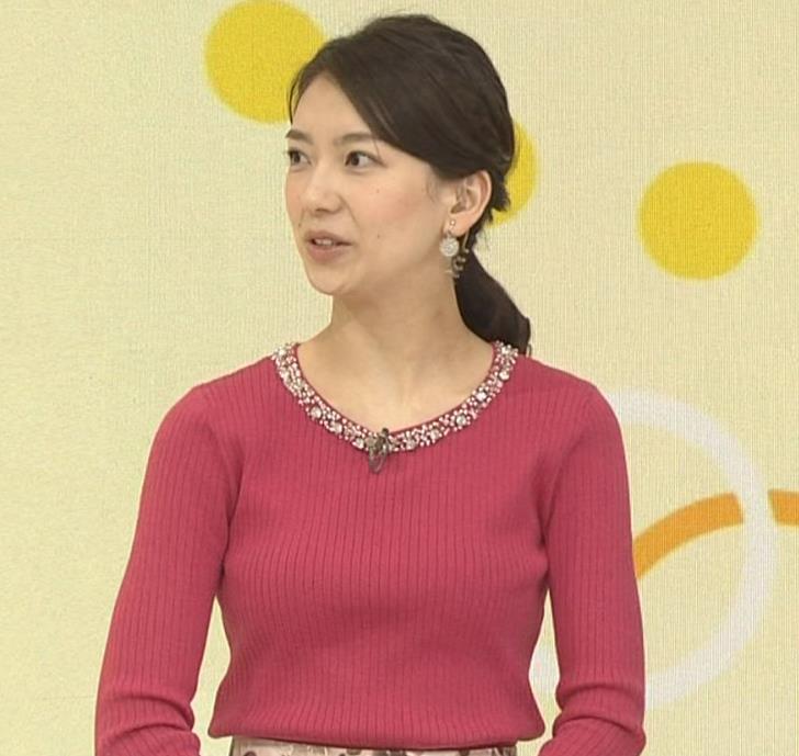和久田麻由子アナ ニットおっぱい◆キャプ・エロ画像7