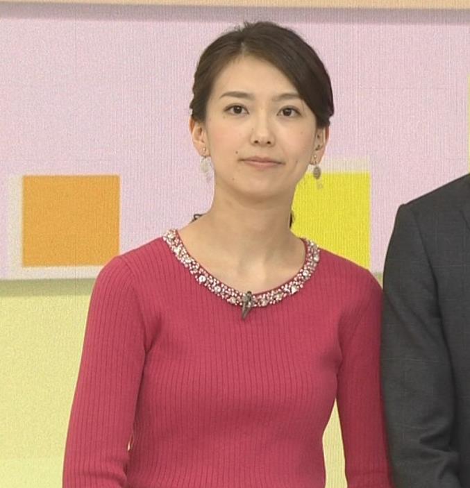 和久田麻由子アナ ニットおっぱい◆キャプ・エロ画像8