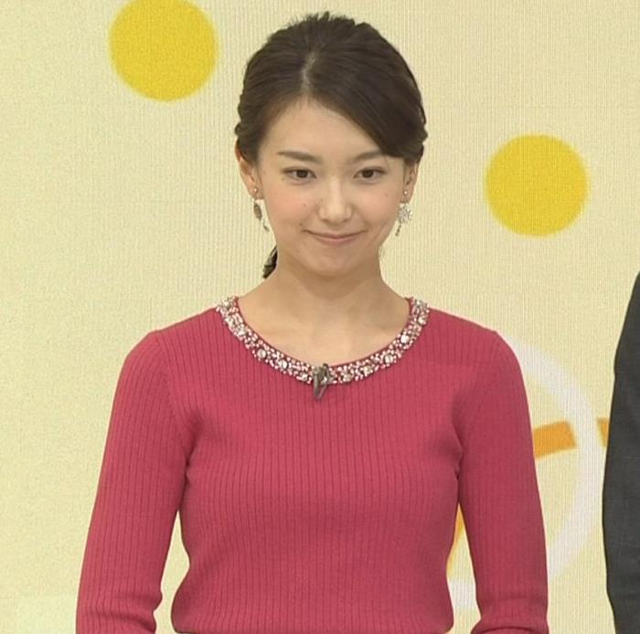 和久田麻由子アナ ニットおっぱい◆キャプ・エロ画像9
