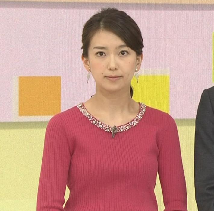 和久田麻由子アナ ニットおっぱい◆キャプ・エロ画像10