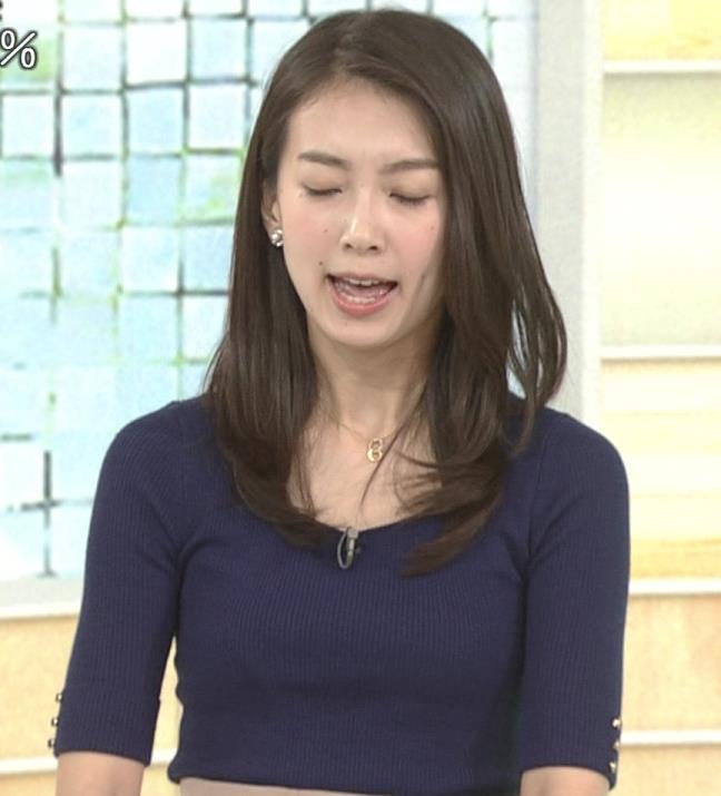 和久田麻由子アナ おっぱいの上をマイクのコードが通ってるみたいですキャプ・エロ画像