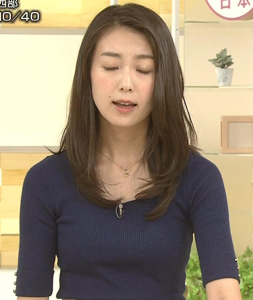 和久田麻由子アナ おっぱいの上をマイクのコードが通ってるみたいですキャプ・エロ画像7