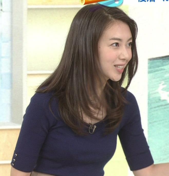 和久田麻由子アナ おっぱいの上をマイクのコードが通ってるみたいですキャプ・エロ画像8