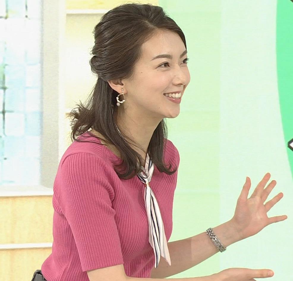 和久田麻由子アナ ニットおっぱいがエロかったよキャプ・エロ画像