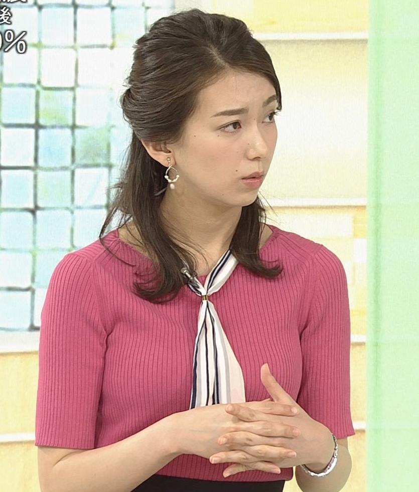 和久田麻由子アナ ニットおっぱいがエロかったよキャプ・エロ画像2