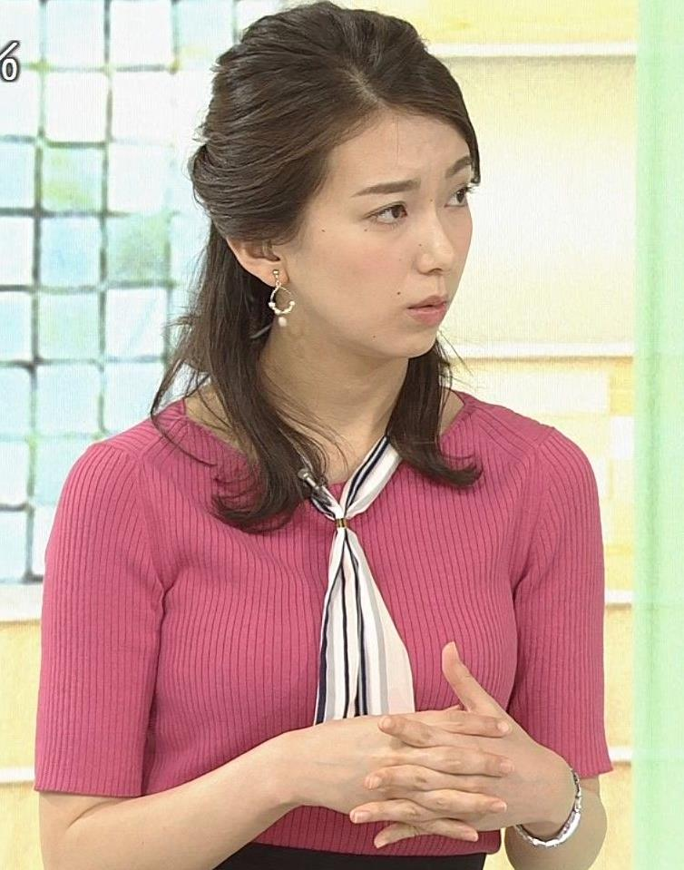 和久田麻由子アナ ニットおっぱいがエロかったよキャプ・エロ画像5