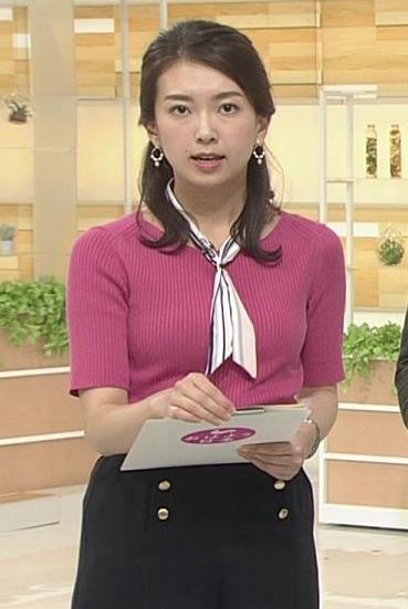 和久田麻由子アナ ニットおっぱいがエロかったよキャプ・エロ画像6