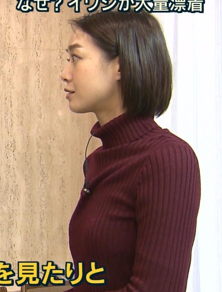 アナ ニット★横乳キャプ・エロ画像2