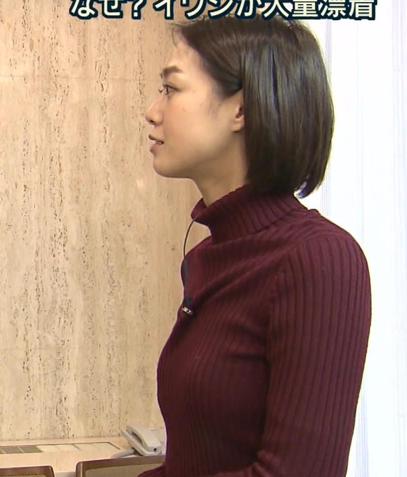 アナ ニット★横乳キャプ・エロ画像3