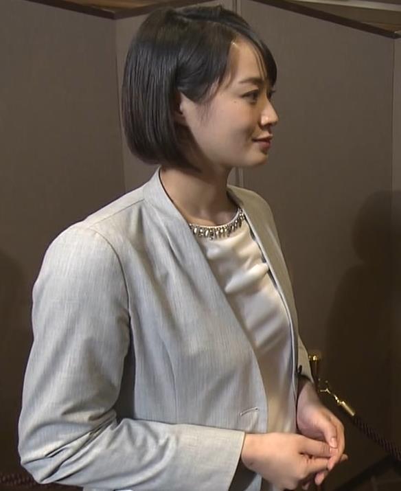 八木麻紗子アナ ちっぱいだけどなんかエロいキャプ・エロ画像3