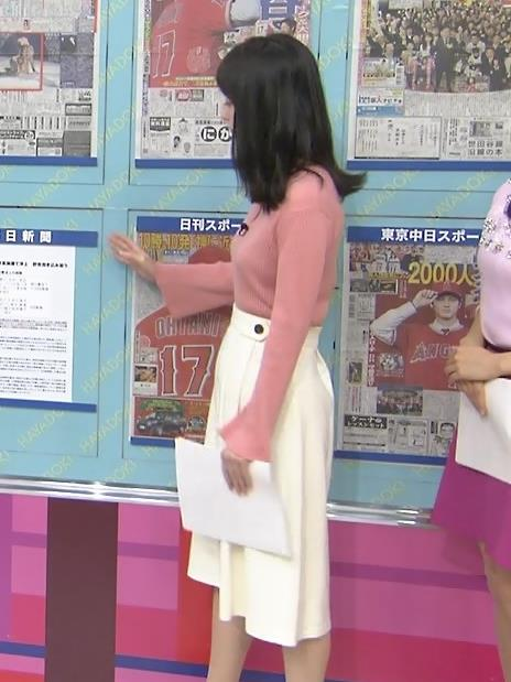 山本恵里伽アナ ニット横乳キャプ・エロ画像8