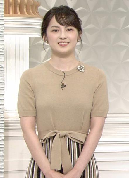 山本恵里伽アナ おっぱいが何気に際立つエロい服キャプ・エロ画像10