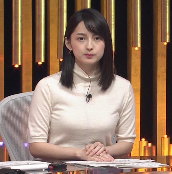 山本恵里伽アナ エロい横乳キャプ・エロ画像4