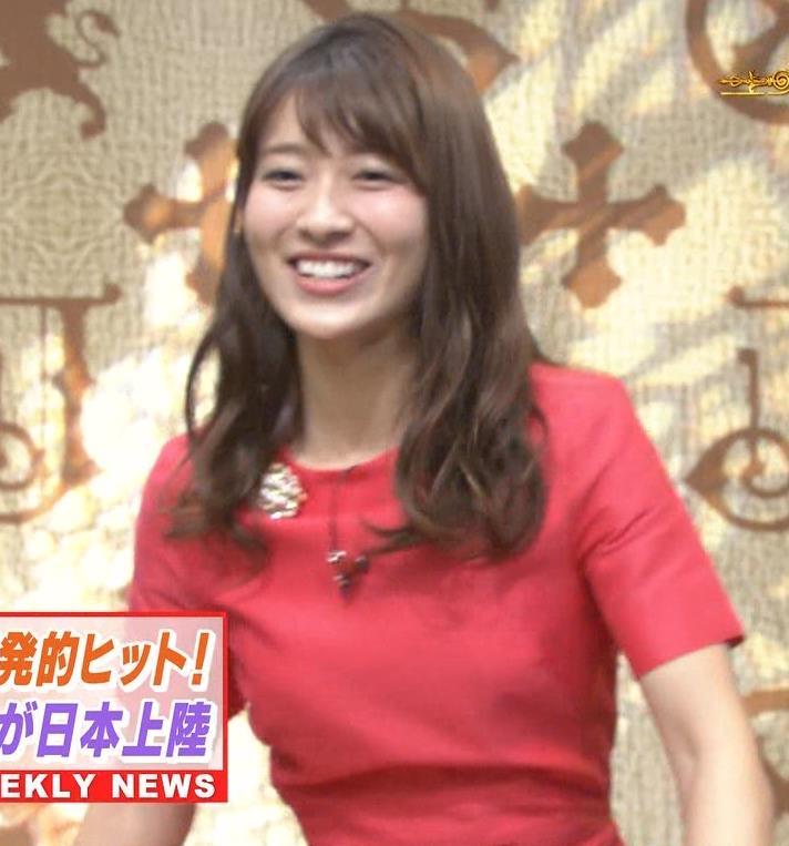 山本里菜アナ スカートひらひらの脚が見えるダンスキャプ・エロ画像3
