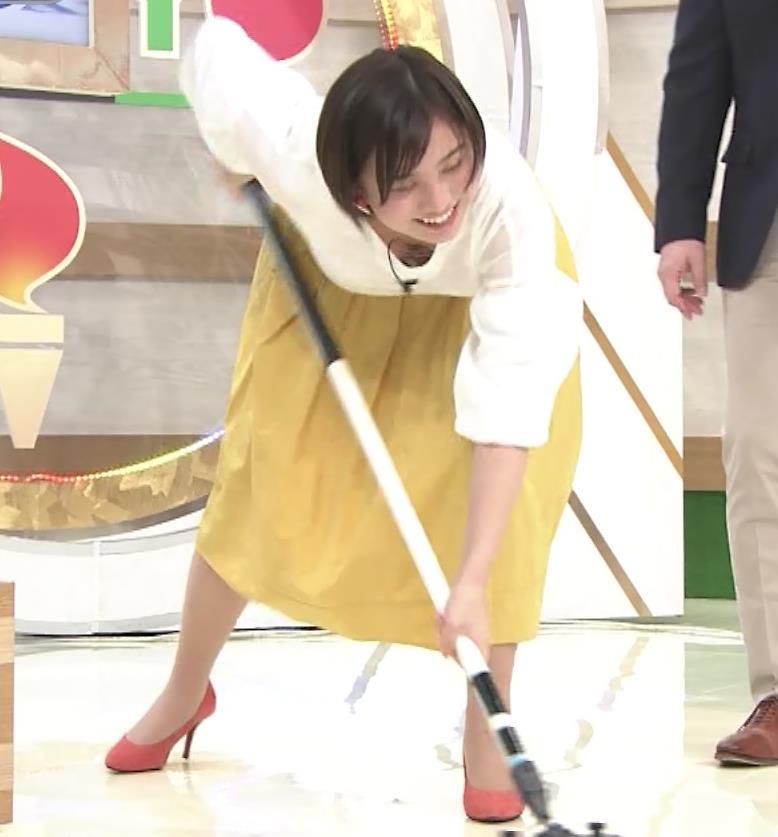 山本雪乃アナ カーリングで胸ちらキャプ・エロ画像