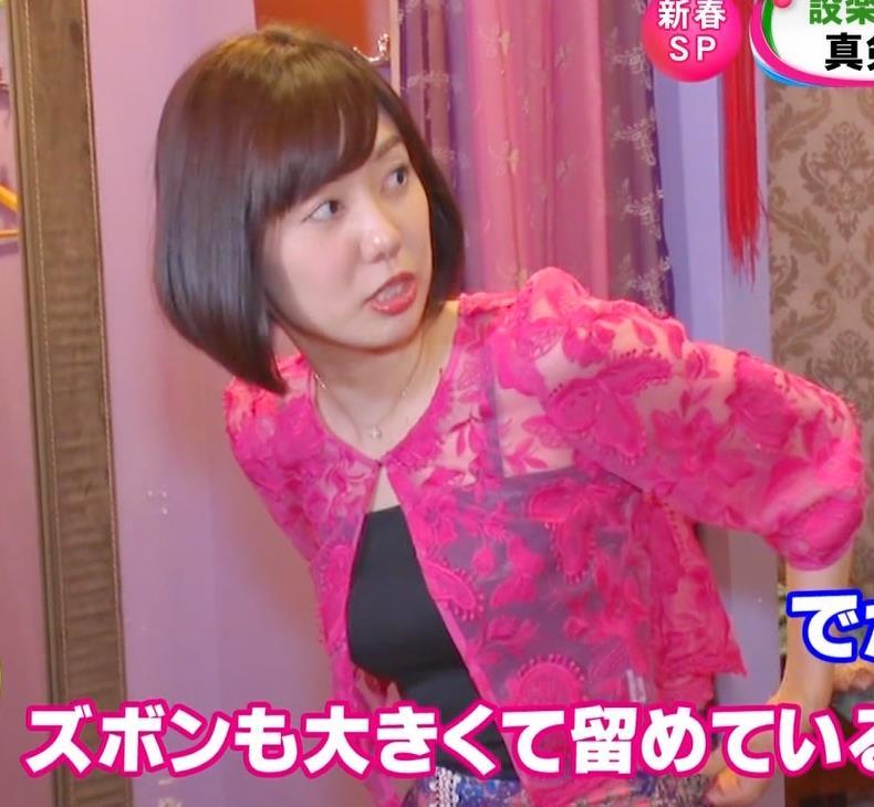 アナ ワキ全開&エロい横乳キャプ・エロ画像6