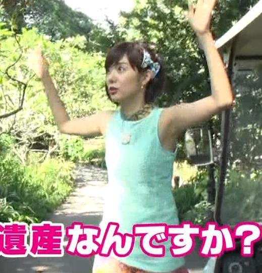 アナ ワキ全開&エロい横乳キャプ・エロ画像7