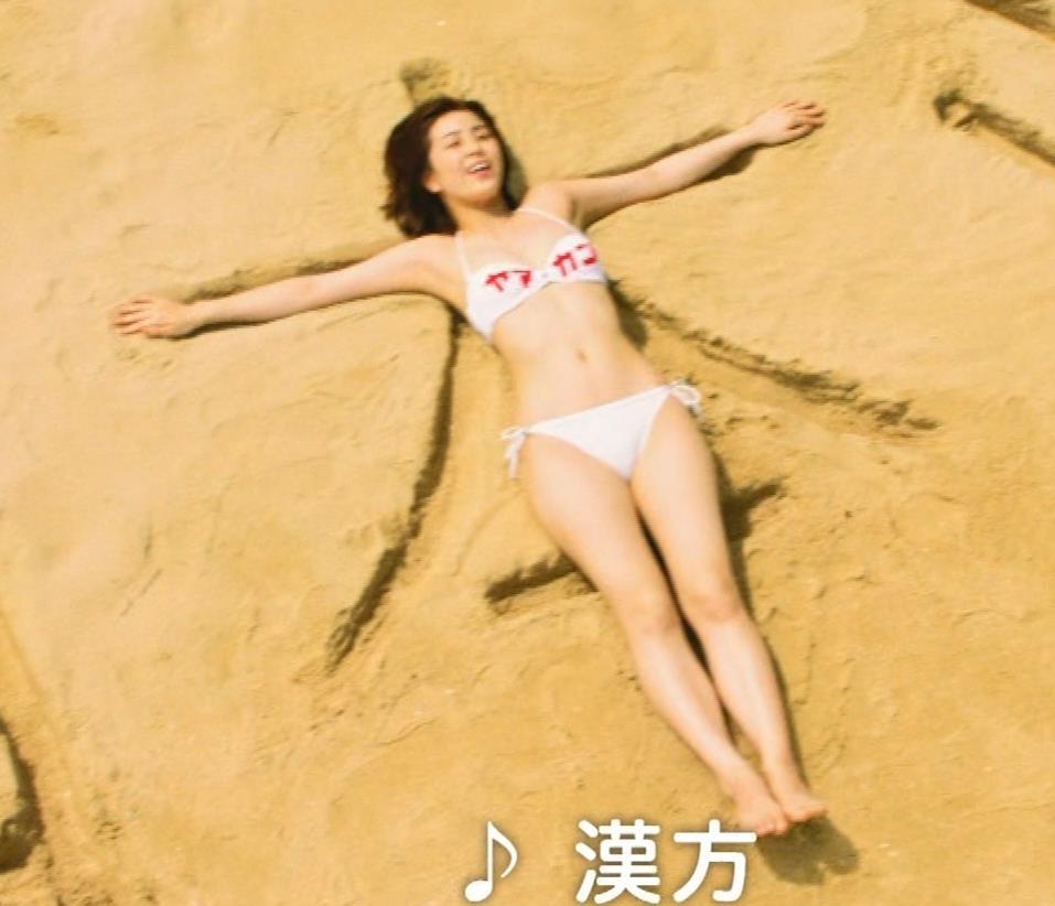 柳ゆり菜 ビキニの健康食品CMがぶっ飛んでてエロ過ぎキャプ・エロ画像11