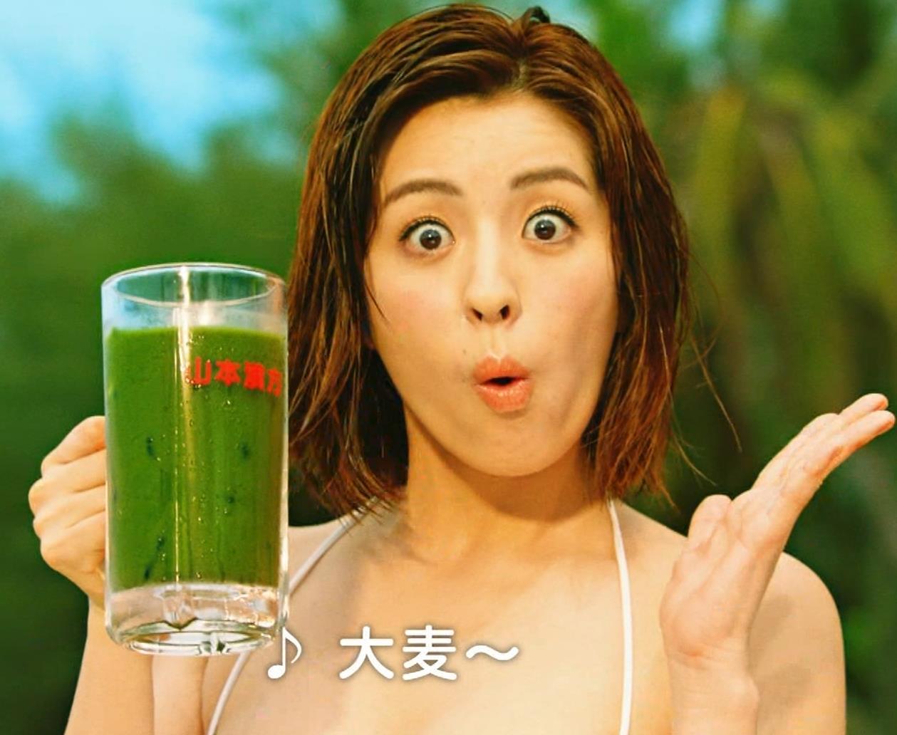 柳ゆり菜 ビキニの健康食品CMがぶっ飛んでてエロ過ぎキャプ・エロ画像5