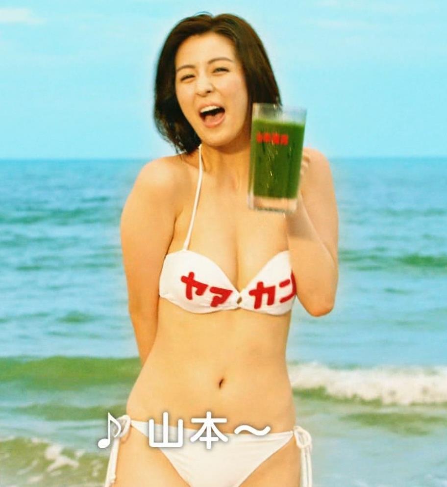 柳ゆり菜 ビキニの健康食品CMがぶっ飛んでてエロ過ぎキャプ・エロ画像9