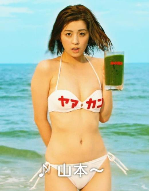 柳ゆり菜 ビキニの健康食品CMがぶっ飛んでてエロ過ぎキャプ画像(エロ・アイコラ画像)