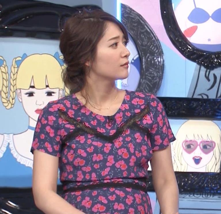 吉田明世アナ 妊婦のおっぱいキャプ・エロ画像2