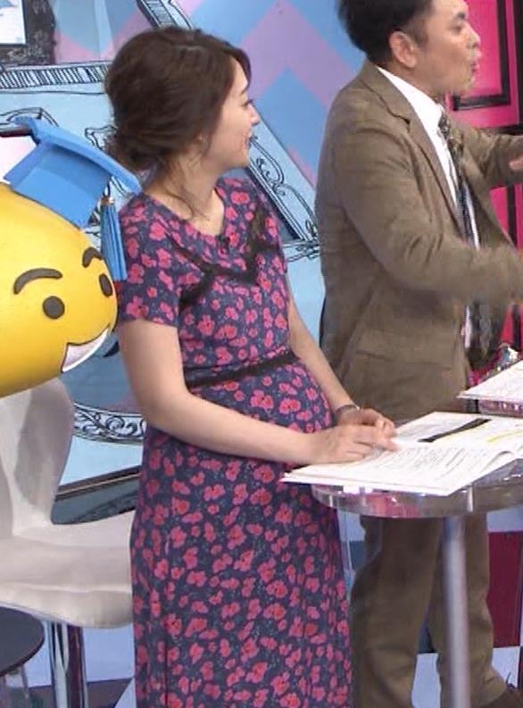 吉田明世アナ 妊婦のおっぱいキャプ・エロ画像4