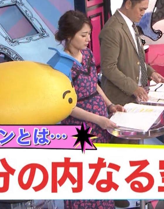 吉田明世アナ 妊婦のおっぱいキャプ・エロ画像9