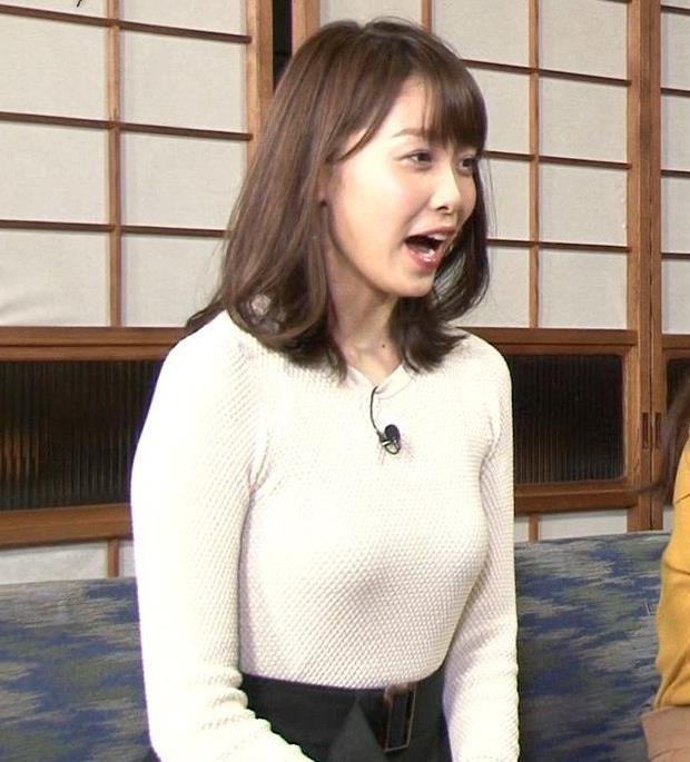 良原安美 TBS新人アナのにっとおっぱいがエロ過ぎ(将来有望)キャプ・エロ画像