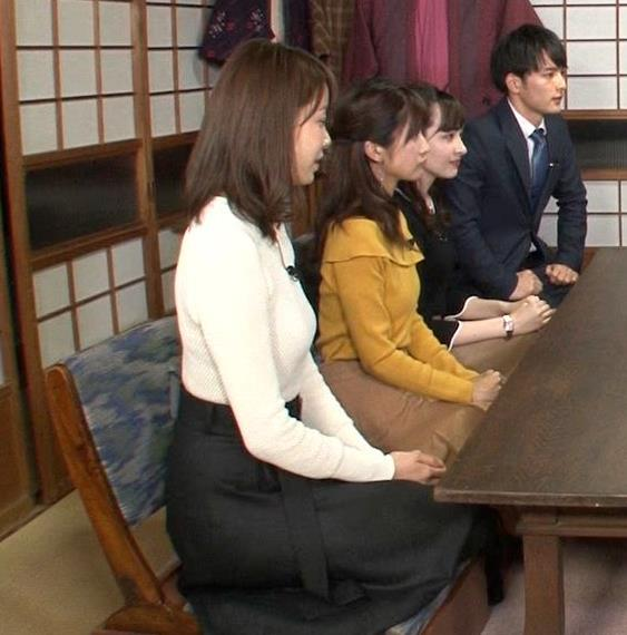 良原安美 TBS新人アナのにっとおっぱいがエロ過ぎ(将来有望)キャプ・エロ画像5