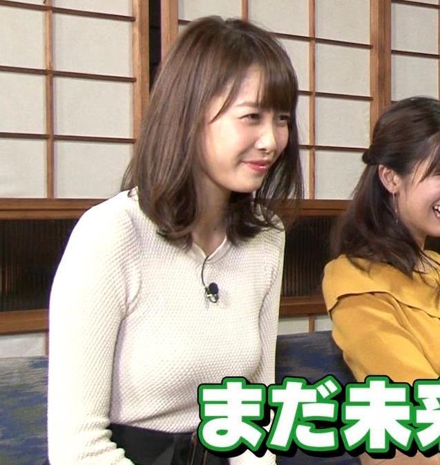 良原安美 TBS新人アナのにっとおっぱいがエロ過ぎ(将来有望)キャプ・エロ画像6