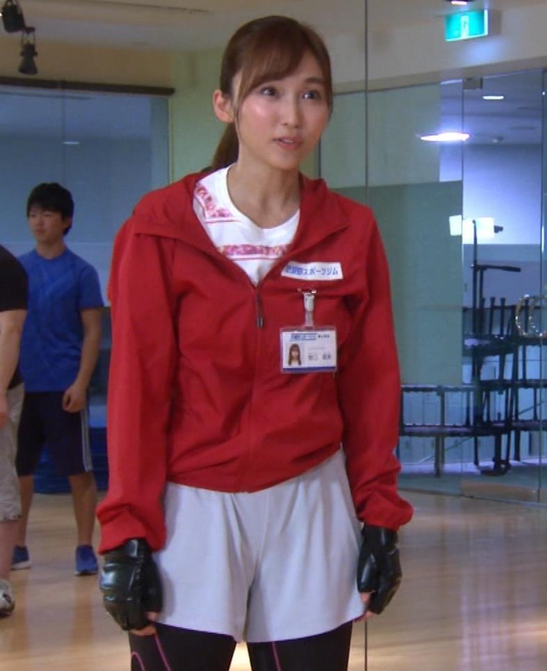 吉木りさ スポーツジムのインストラクター役キャプ・エロ画像